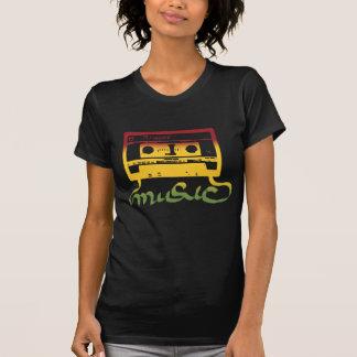 T-shirt reggae de bande de rasta