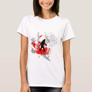 T-shirt Région boisée allée de Squatchin