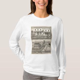 T-shirt Région boisée de bâtiments, Yolo