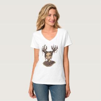 T-shirt Région boisée hivernale Elf de Noël
