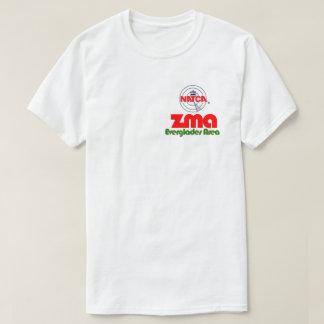 T-shirt Région de marais de ZMA - dos d'alligator