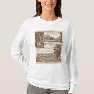 T-shirt Région pionnière de la terre Co, Porterville