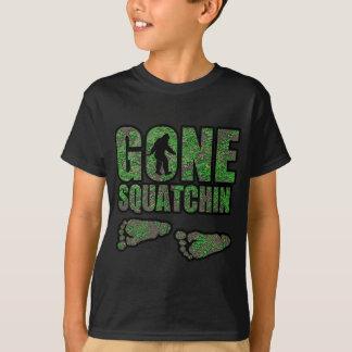 T-shirt Régions boisées allées de Squatchin