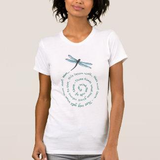 T-shirt Règle de 3 - la loi de la sorcière - Wiccan Rede