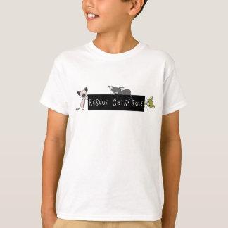T-shirt Règle de chats de délivrance !