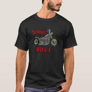 T-shirt Règle de cintres de singe