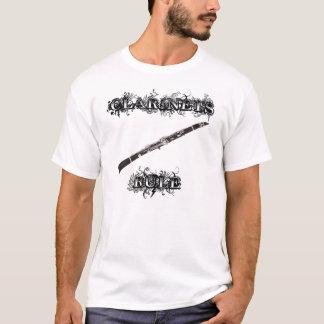 T-shirt Règle de clarinettes !