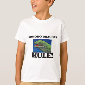 T-shirt Règle de DRAGONS de KOMODO !