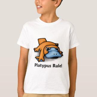 T-shirt Règle d'ornithorynque !
