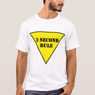 T-shirt règle du signal de ralentissement 3 seconde