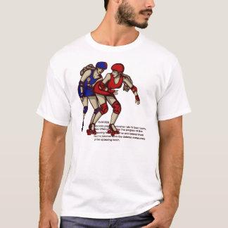 T-shirt Règles de Derby de rouleau : Dresseur