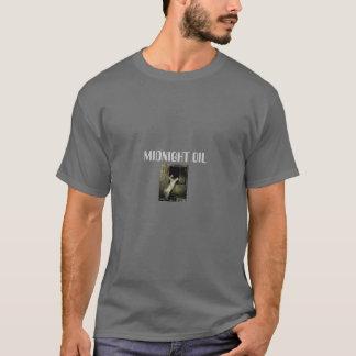 T-shirt règles de minuit d'huile