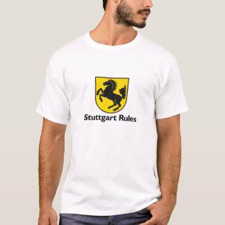 T-shirt Règles de Stuttgart