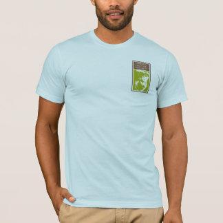 T-shirt Règles d'évolution ! 98,76% Chimpanzé sur