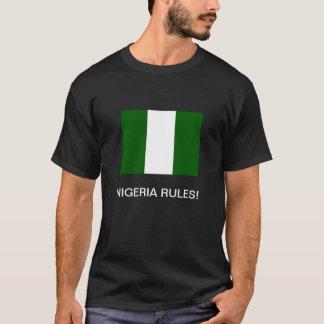 """T-shirt """"RÈGLES DU NIGÉRIA ! 'T-shirt"""