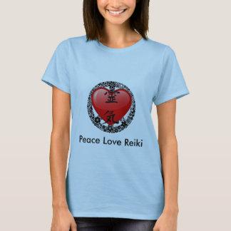 T-shirt Reiki-option 2 d'amour de paix