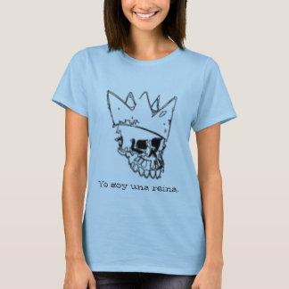 T-shirt Reina d'una de soja de Yo