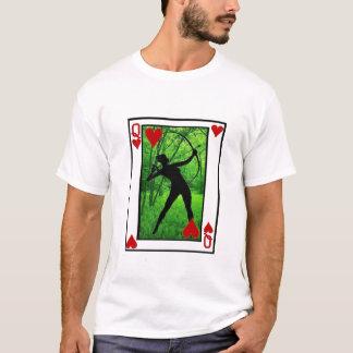 T-shirt reine chic d'archer des coeurs