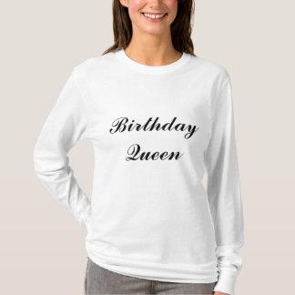 T-shirt Reine d'anniversaire