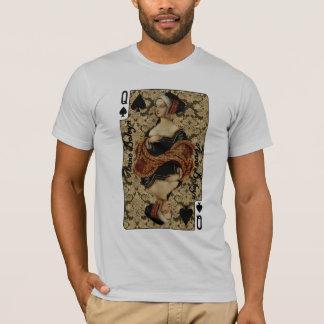 T-shirt Reine de chemise de pelles