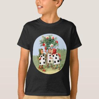 T-shirt Reine de la peinture de Cardmen des coeurs les