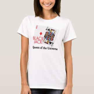 T-shirt Reine de nerf de boeuf de la chemise d'univers