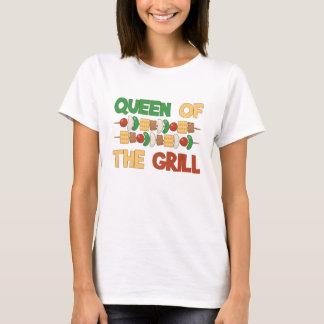 T-shirt Reine des brochettes de BBQ de gril