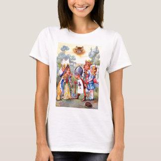 T-shirt Reine des coeurs et Alice dans la roseraie