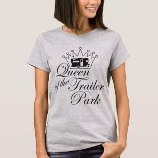 T-shirt Reine du terrain de caravaning