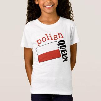 T-Shirt Reine polonaise