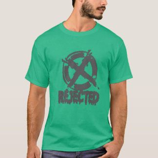 T-shirt rejeté d'un amour la fille