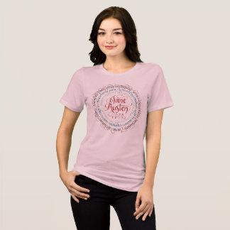 T-shirt Relaxed de drame de période de Jane Austen