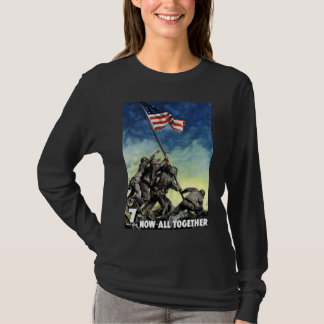 T-shirt Relèvement du drapeau sur Iwo Jima