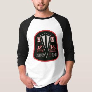 T-shirt Remake noir de logo d'automobiles du Hudson