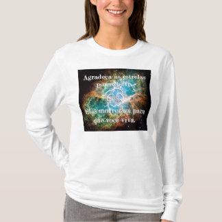T-shirt Remercie aux étoiles