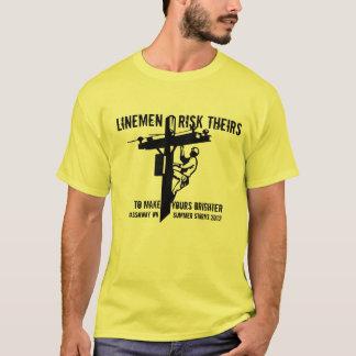 T-shirt Remerciez un été 2012 Gassaway, WV de Lineworker