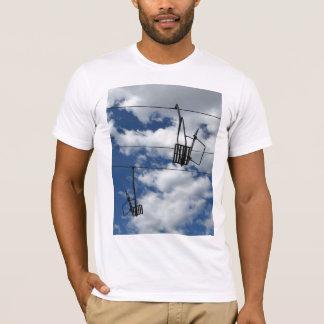 T-shirt Remonte-pente et ciel