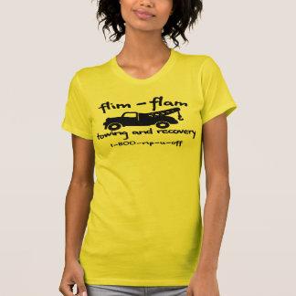 T-shirt remorquage et récupération de flam de flim