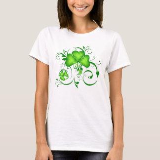 T-shirt Remous de shamrock