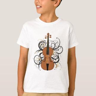 T-shirt Remous de violon