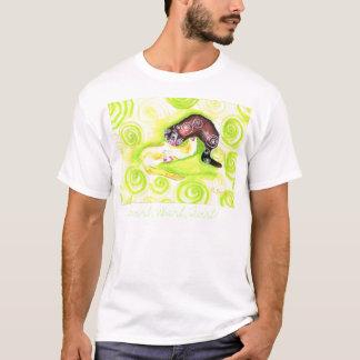 T-shirt Remous, mouvement giratoire, pirouette !