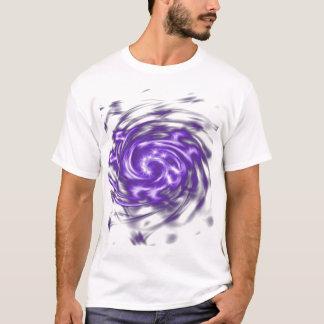 T-shirt Remous pourpre