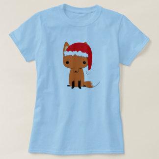 T-shirt Renard de Noël