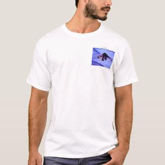T-shirt renard de sf dans la cuvette