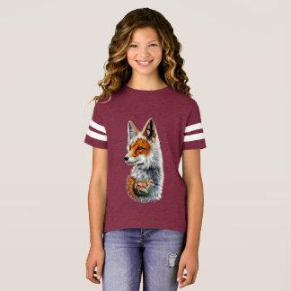 T-shirt Renard Roux Enfant