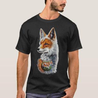 T-shirt Renard Roux Homme