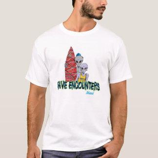 T-shirt Rencontres de vague