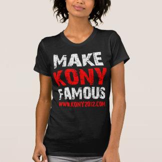 T-shirt Rendez Kony célèbre - Kony 2012