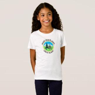 T-Shirt RENDEZ NOTRE PLANÈTE GRANDE ENCORE !