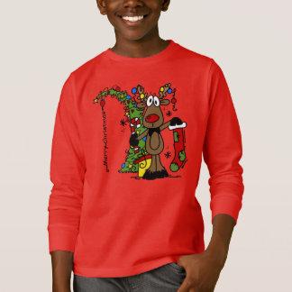 T-shirt Renne de Joyeux Noël